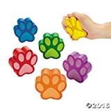 Paw Print Stress Relief Toys - 12 ct Review and Comparison