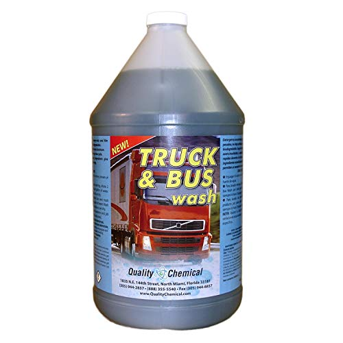 Truck & Bus Wash: Heavy-duty industrial strength, super-foaming, grease-cutting cleaner and degreaser-1 gallon (128 oz.) ()