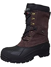 X Mens YSC8 Winter Boots Brown 6.5 M US