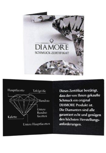 Elli PREMIUM - Bague - Argent 925 - Diamant 0.12 cts - T58 - 0612622214_58