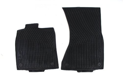 Genuine Audi Accessories 4G1061221041 Front All-Weather Floor Mat for Audi A6 Sedan, (Set of 2)