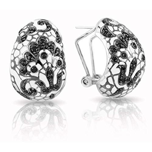Belle Etoile Fleur De Lace Earrings White
