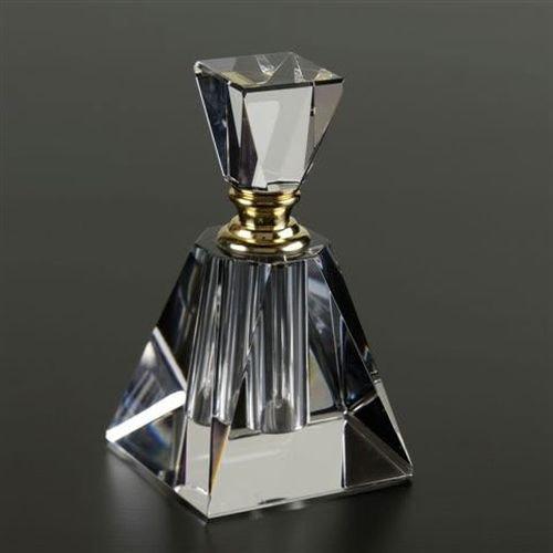 Badash Crystal Pyramid Perfume Bottle