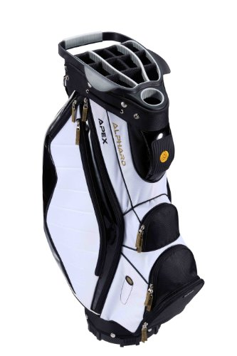 Alphard Golf Apex Cart Bag White/Black