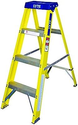 Lyte escaleras GFHS4 4-fibra de escalera: Amazon.es: Bricolaje y ...