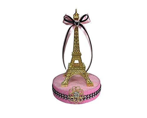 Deluxe Gold Ifel Tower Cake Center Piece (ooh la la paris)]()