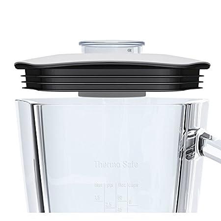 Bosch MMB42G1B Batidora de vaso 2.3L 700W Blanco - Licuadora (2,3 L, Batidora de vaso, Blanco, Vidrio, Acero inoxidable, 700 W): Amazon.es: Hogar