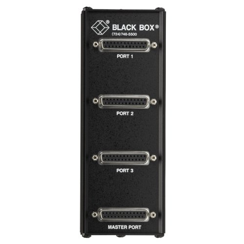 Black Box 3-Port RS232 DB25 Passive Splitter
