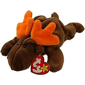 11fe2c09567 Amazon.com  Ty Beanie Babies Chocolate the Moose  Toys   Games