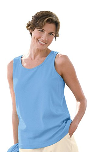 The Tog Shop Womens Sleeveless Tank - L Sky Blue