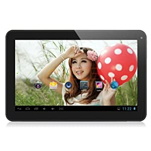 10.1'' Inch Rooted Android 4.4.2 kitkat 16GB Dual Quintessence Tablet PC, Wifi, HDMI, Bluetooth [2014] (Black- Kitkat)