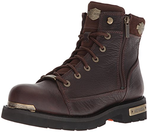 Brown Harley Motorcycle Davidson Mens Chipman Chipman Mens Boot Davidson Harley x7zq41nU7