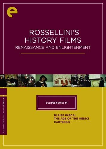 - Eclipse Series 14: Rossellini's History Films - Renaissance and Enlightenment (Blaise Pascal / The Age of the Medici / Cartesius) (The Criterion Collection)