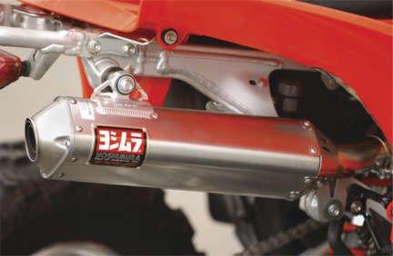 Yoshimura TRC Full Exhaust System Stainless/Aluminum for Honda TRX450R 2004-2005
