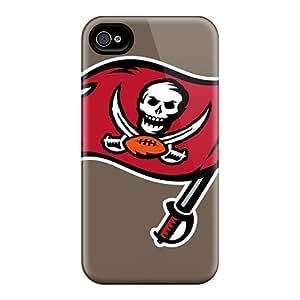 Rewens Premium Protective Hard Case For Iphone 4/4s- Nice Design - Tampa Bay Buccaneers