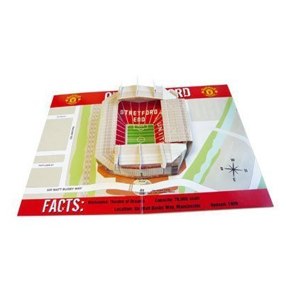 Used, Manchester United F.C. Pop-Up Birthday Card for sale  Delivered anywhere in Canada