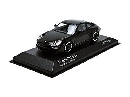 Minichamps 1:43 Escala 2011 Porsche 911 GTS 997 4 II del Coche (Negro metálico): Amazon.es: Juguetes y juegos
