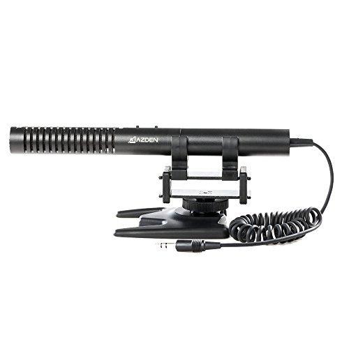 Azden High-performance (SMX-10) Stereo Condenser Microphone - Camera Mount Stereo Condenser Microphone