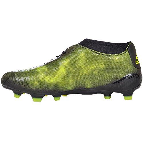 adidas adizero Malice FG - Botas de rugby para Hombre, Negro - (NEGBAS/NEGBAS/AMASOL) 46