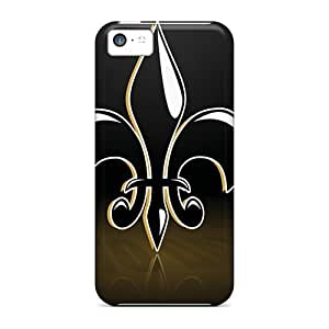 Defender Cases With Nice Appearance (new Orleans Saints) For Iphone 5c