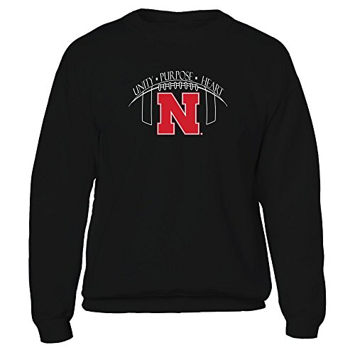 Husker Football Fans -Unity, Purpose, Heart - T-Shirt - Officially Licensed Fashion Sports Apparel