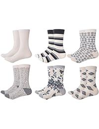 Mio Marino Womens Dress Socks - Colorful Patterned Socks for Women