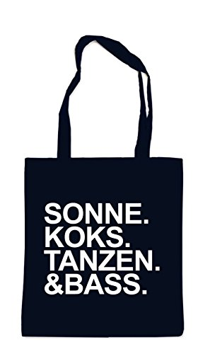 Sonne Koks Tanzen & Bass Bag Black uTIrNvWBq