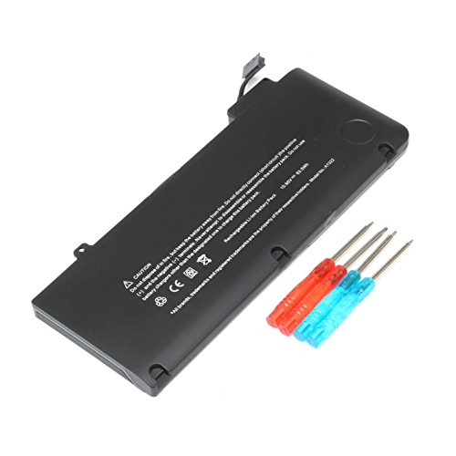A1322 New Laptop Battery for Apple MacBook Pro 13'' A1322 A1278 (Mid 2009, Mid 2010, Early 2011, Late 2011, Mid 2012)Series, fit MB990LL/A MB991LL/A MC375LL/A MD314LL/A MC724LL/A