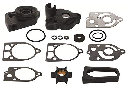 GLM Water Pump Impeller Kit for Mercury 30 35 40 45 50 60 65 70 Hp Replaces 46-77177A3, 18-3324 Read Product Description for Exact Applications ()