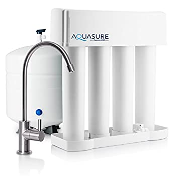 Image of Under-Sink & Countertop Filtration Aquasure Premier Reverse Osmosis Water Filtration System - 75 GPD Quick Change Water Filter