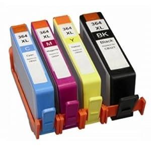 Prestige Cartridge 5 XL Cartuchos de Tinta para HP Deskjet Officejet Photosmart Impresoras | reemplazo para HP 364XL 20