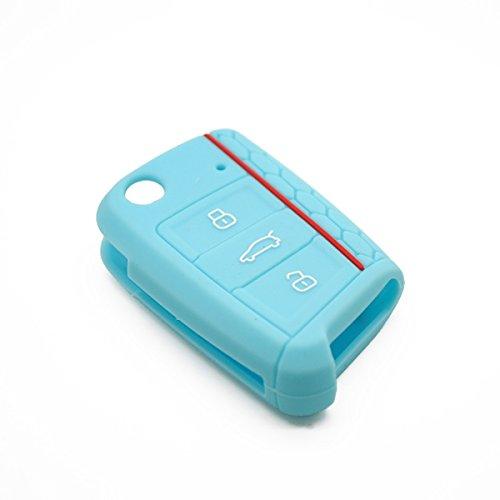 22 opinioni per Custodia in Silicone Chiave auto- Case Cover Car Silicone Skin (Azzurro)