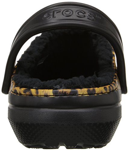 Clog Crocs Lined Black MainApps Graphic Espresso Sabot Classic 8PSwxAIAq