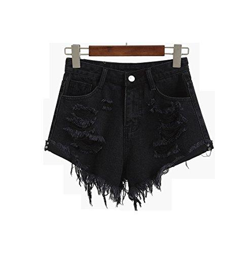 Jeans Pantaloncini Donna Larghi Oudan Mutandine In Da Retr 4IpqT