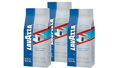 """Lavazza Italian """"Filtro Classico"""" Coffee Beans (3 x 2.2 lb bags)"""