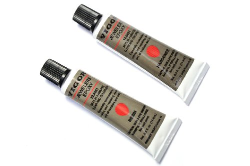 Vigor Jewelers Epoxy Clear and Colorless Bonding Adhesive