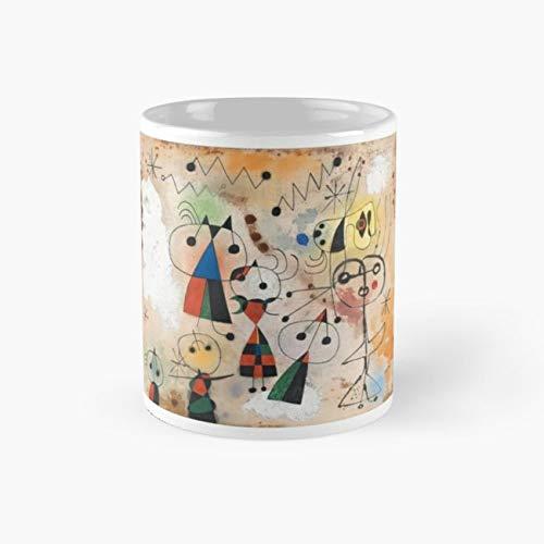 Joan Miro, European Artist, Gemius, Art Design, Many Items Mug, joan miro Cup, 11 Ounce Ceramic Mug, Perfect Novelty Gift Mug, Funny Gift Mugs, Funny Coffee Mug 11oz, Tea Cups 11oz - Joan Miro Ceramics