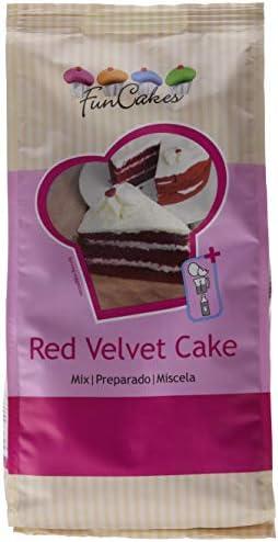 FunCakes - Mezcla para bizcocho Red Velvet: Amazon.es: Alimentación y bebidas
