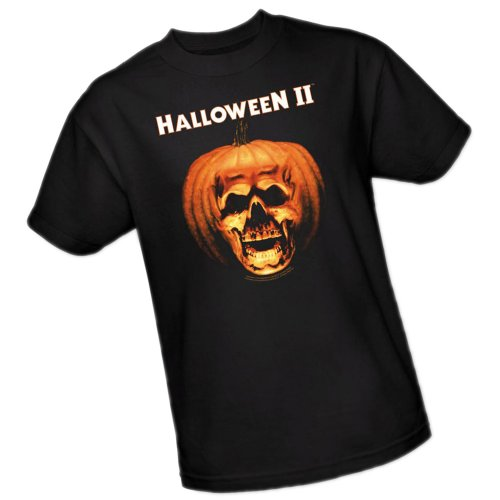 Universal Studios Halloween - Pumpkin Shell - Halloween II Adult T-Shirt, XX-Large