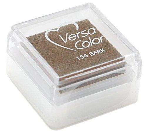 Versasmall VersaColor Tampon encreur petit cube 25 × 25 mm Pigment Bark Tsukineko VS000154