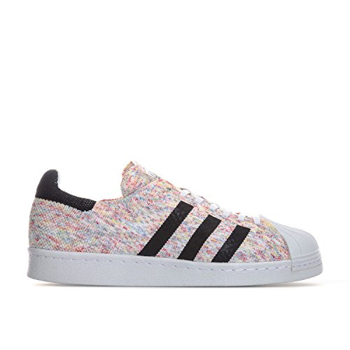Adidas Heren Originals Superstar 80 Trainers Primeknit Us13.5 Wit