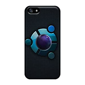 New Fashion Premium Tpu Case Cover For Iphone 5/5s - Future Button