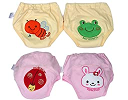 BONAMART ®4pc Toddler Baby Kids Boys Girls Underwear Training Pants 100cm