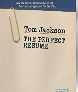 Perfect Resume Tom Jackson The Perfect Resume. The Perfect Resume · Tom Jackson
