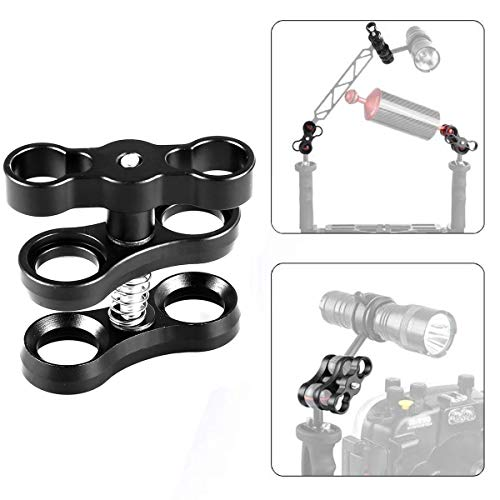 """WeiHe 1"""" Standard Ball Clamp for Underwater Light Arms System"""