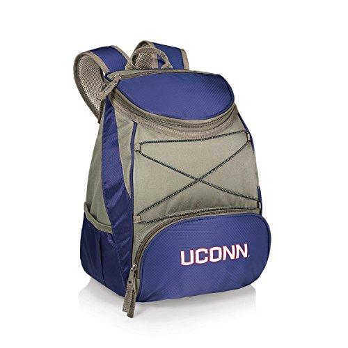 NCAA Connecticut Huskies PTX Insulated Backpack Cooler, Navy, Regular (Team Cooler)