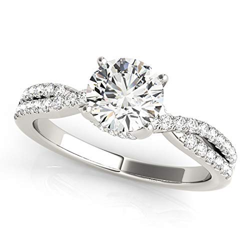 2.01 CT (CEN: 1.53 CT) NATURAL EGL CERTIFIED ROUND DIAMOND ENGAGEMENT/WEDDING 950 PLATINUM RING G-H/VS (1.53 Ct Natural)