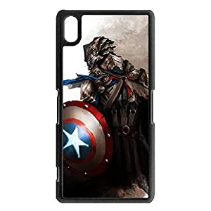 Phone Case Snap on Sony Xperia Z2 Compact Popular Cartoon Transformers Phone Shell Transformers Pattern