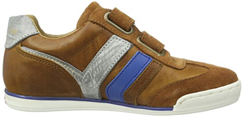 Pantofola d'Oro Vasto Ragazzi Velcro Low - Zapatillas de casa Niños marrón (tortoise shell)
