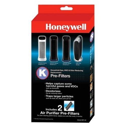 Bundle Honeywell Household Reducing Pre filter